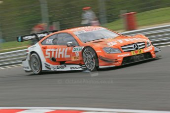 World © Octane Photographic Ltd. German Touring Cars (DTM) Brands Hatch Saturday 18th May 2013. Practice.. HWA Team – DTM AMG Mercedes C-Coupe – Robert Wickens. Digital Ref: 0680cb1d4937