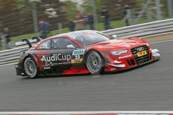 World © Octane Photographic Ltd. German Touring Cars (DTM) Brands Hatch Saturday 18th May 2013. Practice.. Phoenix Racing – Audi RS5 DTM – Miguel Molina. Digital Ref: 0680cb1d4965