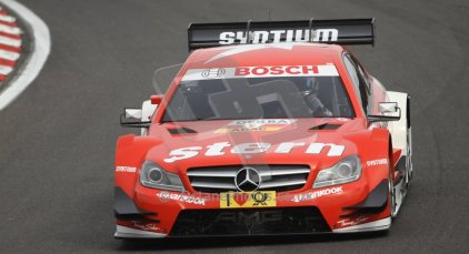 World © Octane Photographic Ltd. German Touring Cars (DTM) Brands Hatch Saturday 18th May 2013. Practice.. Mucke Motorsport – DTM AMG Mercedes C-Coupe – Daniel Juncadella. Digital Ref: