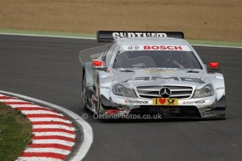 World © Octane Photographic Ltd. German Touring Cars (DTM) Brands Hatch Saturday 18th May 2013. Practice.. HWA Team – DTM AMG Mercedes C-Coupe – Christian Vietoris Digital Ref: