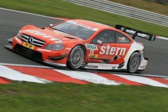 World © Octane Photographic Ltd. German Touring Cars (DTM) Brands Hatch Saturday 18th May 2013. Qualifying. Mucke Motorsport – DTM AMG Mercedes C-Coupe – Daniel Juncadella. Digital Ref: 0683cb1d5250