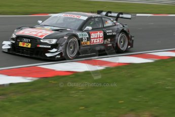 World © Octane Photographic Ltd. German Touring Cars (DTM) Brands Hatch Saturday 18th May 2013. Qualifying. Audi Sport Team Abt – Audi RS5 DTM – Timo Scheider. Digital Ref: 0683cb1d5309