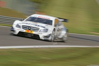 World © Octane Photographic Ltd. German Touring Cars (DTM) Brands Hatch Sunday 19th May 2013. Shakedown lap. Mucke Motorsport – DTM AMG Mercedes C-Coupe – Pascal Wehrlein. Digital Ref: