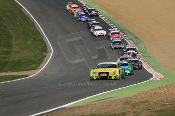 World © Octane Photographic Ltd. German Touring Cars (DTM) Brands Hatch Sunday 19th May 2013. Race. Phoenix Racing – Audi RS5 DTM – Mike Rockenfeller. Digital Ref: