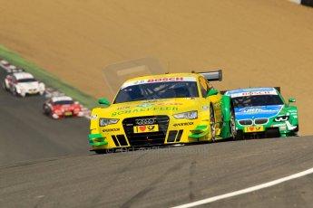 World © Octane Photographic Ltd. German Touring Cars (DTM) Brands Hatch Sunday 19th May 2013. Race.Phoenix Racing – Audi RS5 DTM – Mike Rockenfeller. Digital Ref: 0688ce1d2727