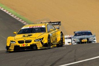 World © Octane Photographic Ltd. German Touring Cars (DTM) Brands Hatch Sunday 19th May 2013. Race. BMW Team MTEK – BMW M3 DTM – Timo Glock. Digital Ref: 0688ce1d2747