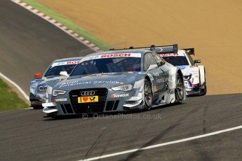 World © Octane Photographic Ltd. German Touring Cars (DTM) Brands Hatch Sunday 19th May 2013. Race. Team Rosberg – Audi RS5 DTM – Filipe Albuquerque. Digital Ref: 0688ce1d2752