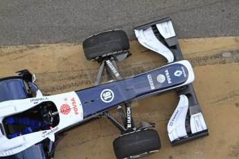 World © Octane Photographic Ltd. Formula 1 Winter testing, Barcelona – Circuit de Catalunya, 19th February 2013. Williams FW35 launch. Digital Ref: 0576cb7d8087