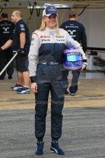 World © Octane Photographic Ltd. Formula 1 Winter testing, Barcelona – Circuit de Catalunya, 19th February 2013. Williams FW35 launch, Pastor Maldonado. Digital Ref: 0576lw1d1081