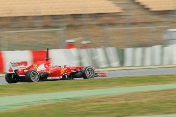 World © Octane Photographic Ltd. Formula 1 Winter testing, Barcelona – Circuit de Catalunya, 19th February 2013. Ferrari F138 – Fernando Alonso. Digital Ref: 0576lw1d1589