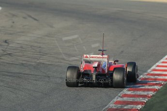 World © Octane Photographic Ltd. Formula 1 Winter testing, Barcelona – Circuit de Catalunya, 20th February 2013. Ferrari F138 – Fernando Alonso. Digital Ref: