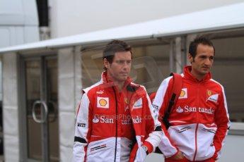 World © Octane Photographic Ltd. Formula 1 Winter testing, Barcelona – Circuit de Catalunya, 21st February 2013. Ferrari Rob Smedley. Digital Ref: 0578cb7d2571