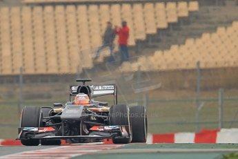 World © Octane Photographic Ltd. Formula 1 Winter testing, Barcelona – Circuit de Catalunya, 21st February 2013. Sauber C32, Nico Hulkenberg. Digital Ref: 0578cb7d9072