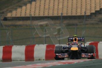 World © Octane Photographic Ltd. Formula 1 Winter testing, Barcelona – Circuit de Catalunya, 21st February 2013. Infiniti Red Bull Racing RB9, Mark Webber. Digital Ref: 0578lw1d3852