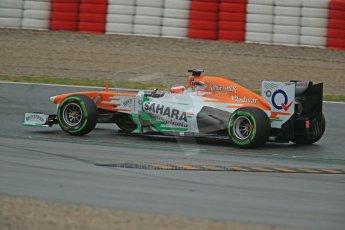 World © Octane Photographic Ltd. Formula 1 Winter testing, Barcelona – Circuit de Catalunya, 22nd February 2013,. Sahara Force India VJM06 – Jules Bianchi. Digital Ref: 0579cb1d4493