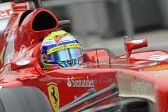 World © Octane Photographic Ltd. Formula 1 Winter testing, Barcelona – Circuit de Catalunya, 22nd February 2013. Ferrari F138 – Felipe Massa. Digital Ref: 0579cb7d9291