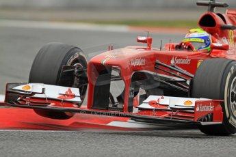 World © Octane Photographic Ltd. Formula 1 Winter testing, Barcelona – Circuit de Catalunya, 22nd February 2013. Ferrari F138 – Felipe Massa. Digital Ref: 0579cb7d9427