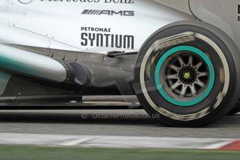World © Octane Photographic Ltd. Formula 1 Winter testing, Barcelona – Circuit de Catalunya, 22nd February 2013. Mercedes AMG Petronas F1 W04, Lewis Hamilton. Digital Ref: 0579cb7d9522