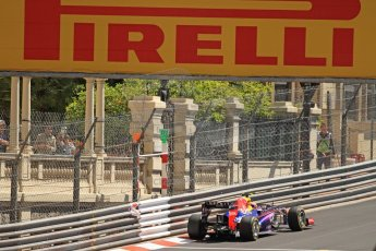 World © Octane Photographic Ltd. F1 Monaco GP, Monte Carlo - Saturday 25th May - Practice 3. Infiniti Red Bull Racing RB9 - Mark Webber. Digital Ref : 0707cb7d2298