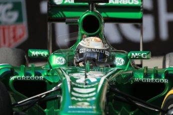 World © Octane Photographic Ltd. F1 Monaco GP, Monte Carlo - Saturday 25th May - Practice 3. Caterham F1 Team CT03 - Giedo van der Garde. Digital Ref : 0707lw1d9480