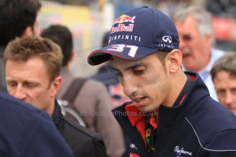 World © Octane Photographic Ltd. Monaco F1 Post Qualifying - Monte Carlo. Sebastien Buemi - Infiniti Red Bull Racing reserve driver. Digital Ref : 0708cb7d2538