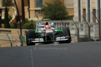 World © Octane Photographic Ltd. F1 Monaco GP, Monte Carlo - Saturday 25th May - Qualifying. Sahara Force India VJM06 - Adrian Sutil. Digital Ref : 0708lw1d0001