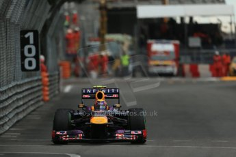 World © Octane Photographic Ltd. F1 Monaco GP, Monte Carlo - Saturday 25th May - Qualifying. Infiniti Red Bull Racing RB9 - Mark Webber. Digital Ref : 0708lw1d0164
