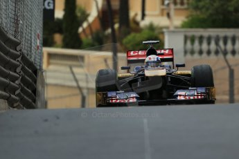 World © Octane Photographic Ltd. F1 Monaco GP, Monte Carlo - Saturday 25th May - Qualifying. Scuderia Toro Rosso STR8 - Jean-Eric Vergne. Digital Ref : 0708lw1d9672