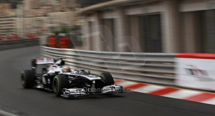 World © Octane Photographic Ltd. F1 Monaco GP, Monte Carlo - Saturday 25th May - Qualifying. Williams FW35 - Pastor Maldonado. Digital Ref : 0708lw7d8530