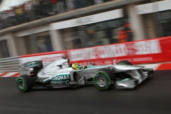 World © Octane Photographic Ltd. F1 Monaco GP, Monte Carlo - Saturday 25th May - Qualifying. Mercedes AMG Petronas F1 W04 - Nico Rosberg. Digital Ref : 0708lw7d8616
