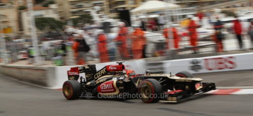 World © Octane Photographic Ltd. F1 Monaco GP, Monte Carlo - Saturday 25th May - Qualifying. Lotus F1 Team E21 - Kimi Raikkonen. Digital Ref : 0708lw7d8806