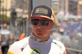 World © 2013 Octane Photographic Ltd. F1 Monaco GP, Monte Carlo -Thursday 23rd May 2013 - Practice 1. Lotus F1 Team - Kimi Raikkonen. Digital Ref : 0692cb7d1115