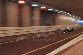 World © 2013 Octane Photographic Ltd. F1 Monaco GP, Monte Carlo -Thursday 23rd May 2013 - Practice 1. Mercedes AMG Petronas F1 W04 – Lewis Hamilton. Digital Ref : 0692lw1d6917