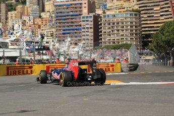 World © 2013 Octane Photographic Ltd. F1 Monaco GP, Monte Carlo -Thursday 23rd May 2013 - Practice 1. Scuderia Toro Rosso STR8 - Daniel Ricciardo. Digital Ref : 0692lw1d6959