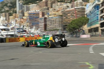 World © 2013 Octane Photographic Ltd. F1 Monaco GP, Monte Carlo -Thursday 23rd May 2013 - Practice 1. Caterham F1 Team CT03 - Charles Pic. Digital Ref : 0692lw1d6988