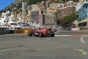 World © 2013 Octane Photographic Ltd. F1 Monaco GP, Monte Carlo -Thursday 23rd May 2013 - Practice 1. Scuderia Toro Rosso STR8 - Daniel Ricciardo. Digital Ref : 0692lw1d7067
