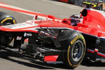 World © 2013 Octane Photographic Ltd. F1 Monaco GP, Monte Carlo -Thursday 23rd May 2013 - Practice 1. Marussia F1 Team MR02 - Max Chilton. Digital Ref : 0692lw1d7131