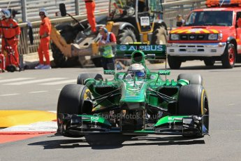 World © 2013 Octane Photographic Ltd. F1 Monaco GP, Monte Carlo -Thursday 23rd May 2013 - Practice 1. Caterham F1 Team CT03 - Giedo van der Garde. Digital Ref : 0692lw1d7173
