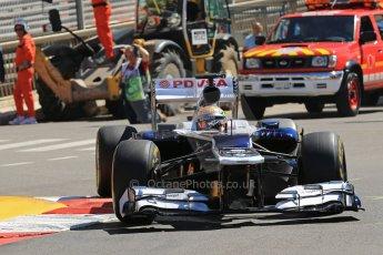 World © 2013 Octane Photographic Ltd. F1 Monaco GP, Monte Carlo -Thursday 23rd May 2013 - Practice 1. Williams FW35 - Pastor Maldonado. Digital Ref : 0692lw1d7178