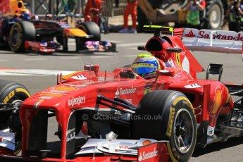World © 2013 Octane Photographic Ltd. F1 Monaco GP, Monte Carlo -Thursday 23rd May 2013 - Practice 1. Scuderia Ferrari F138 - Felipe Massa. Digital Ref : 0692lw1d7237