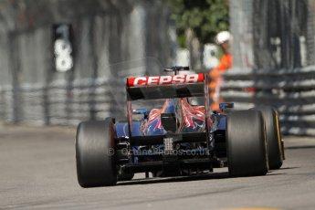 World © 2013 Octane Photographic Ltd. F1 Monaco GP, Monte Carlo -Thursday 23rd May 2013 - Practice 1. Scuderia Toro Rosso STR8 - Jean-Eric Vergne. Digital Ref : 0692lw7d0531