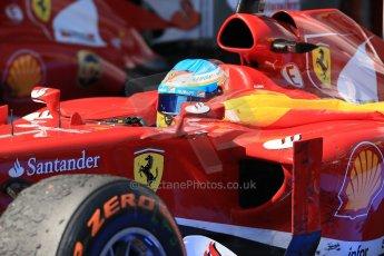 World © 2013 Octane Photographic Ltd. F1 Spanish GP, Circuit de Catalunya - Sunday 12th May 2013 - Race. Scuderia Ferrari F138 - Fernando Alonso. Digital Ref : 0674cb1d2723