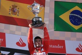 World © 2013 Octane Photographic Ltd. F1 Spanish GP, Circuit de Catalunya - Sunday 12th May 2013 - Race. Scuderia Ferrari - Fernando Alonso. Digital Ref : 0674cb1d2976