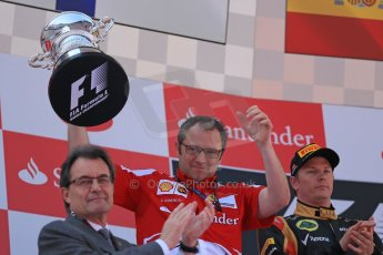 World © 2013 Octane Photographic Ltd. F1 Spanish GP, Circuit de Catalunya - Sunday 12th May 2013 - Race. Ferrari team boss - Stefano Domenicali. Digital Ref : 0674cb1d2992