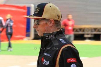 World © Octane Photographic Ltd. F1 Spanish GP, Circuit de Catalunya, Friday 10th May 2013. Practice 1. Kimi Raikkonen - Lotus. Digital Ref : 0659cb1d0165