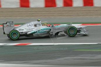 World © Octane Photographic Ltd. F1 Spanish GP, Circuit de Catalunya, Friday 10th May 2013. Practice 1. Lewis Hamilton - Mercedes AMG Petronas. Digital Ref : 0659cb1d8938