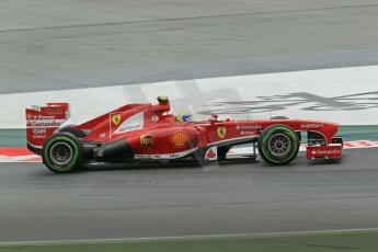 World © Octane Photographic Ltd. F1 Spanish GP, Circuit de Catalunya, Friday 10th May 2013. Practice 1. Felipe Massa - Scuderia Ferrari. Digital Ref : 0659cb1d8944