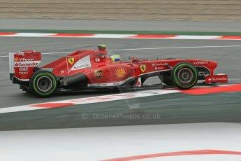 World © Octane Photographic Ltd. F1 Spanish GP, Circuit de Catalunya, Friday 10th May 2013. Practice 1. Felipe Massa - Scuderia Ferrari. Digital Ref : 0659cb1d9025