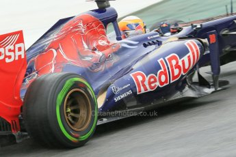 World © Octane Photographic Ltd. F1 Spanish GP, Circuit de Catalunya, Friday 10th May 2013. Practice 1. Jean-Eric Vergne - Toro Rosso STR8. Digital Ref : 0659cb1d9186