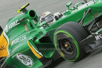 World © Octane Photographic Ltd. F1 Spanish GP, Circuit de Catalunya, Friday 10th May 2013. Practice 1. Giedo van der Garde - Caterham. Digital Ref : 0659cb1d9190